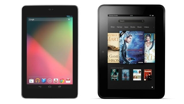 nexus 7 vs. kindle fire hd