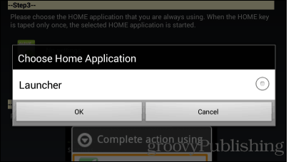 Home2 shortcut launcher