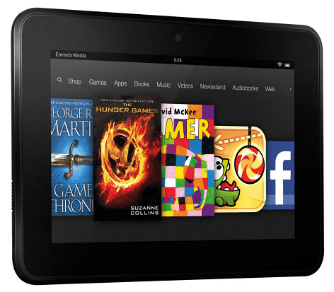 New Kindle Fire HD 2