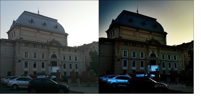 Pro HDR vs normal