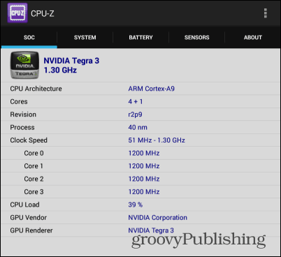 cpu-z android soc