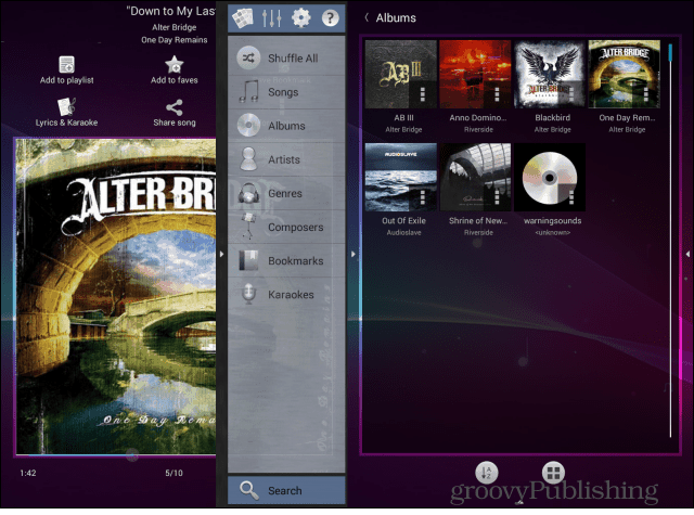 Music Player (Remix) sidebar