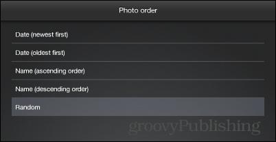 Photo FX Live Wallpaper order