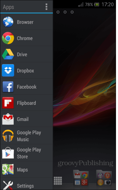 s screen for all the shortcuts you want there Sidebar Plus Adds Multitasking Bars for Android