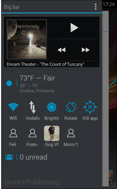 Sidebar Plus widgets