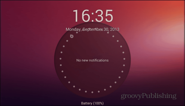 Ubuntu Lockscreen  launcher