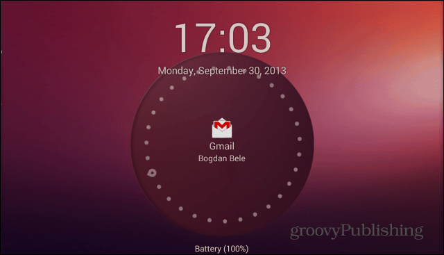 Ubuntu Lockscreen main