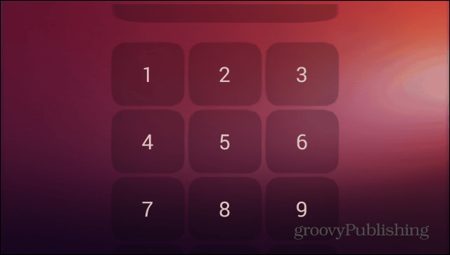 Ubuntu Lockscreen security pin