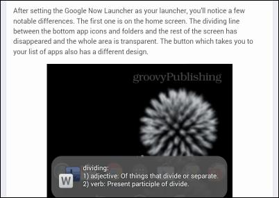 WordLookup definition