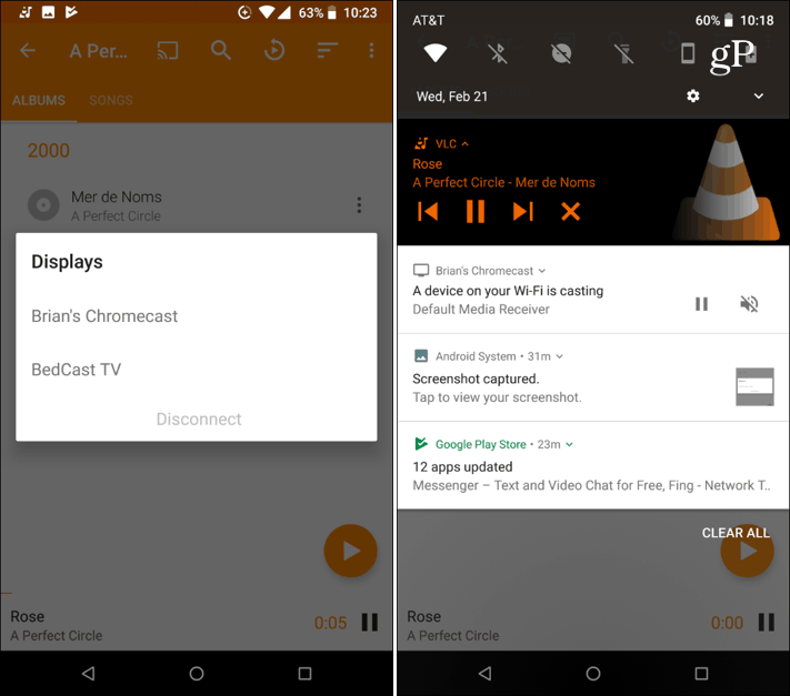 VLC 3-0 Chromecast Support Android