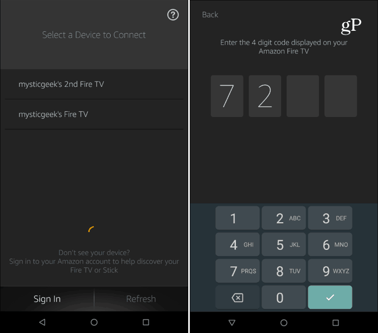 Fire TV Remote App Android