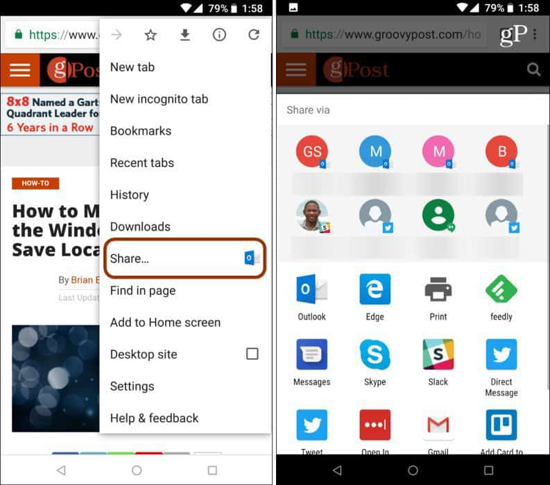 How to Customize the Android Share Menu on Nougat and Higher