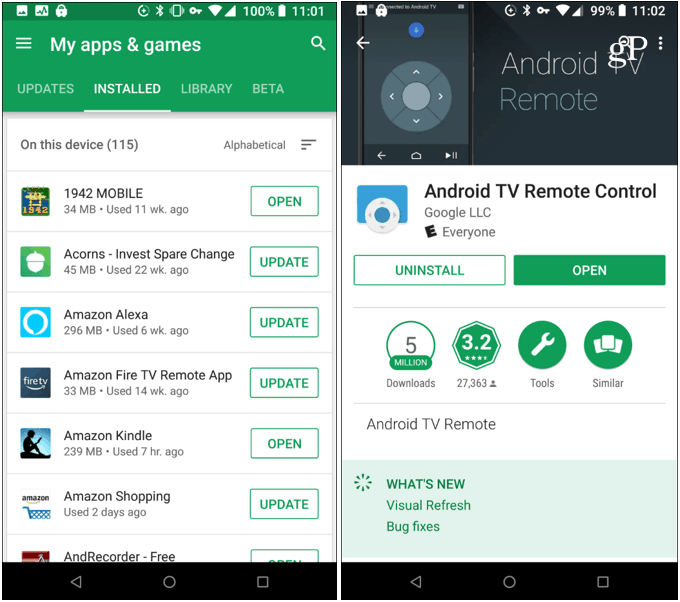 Delete Apps Android