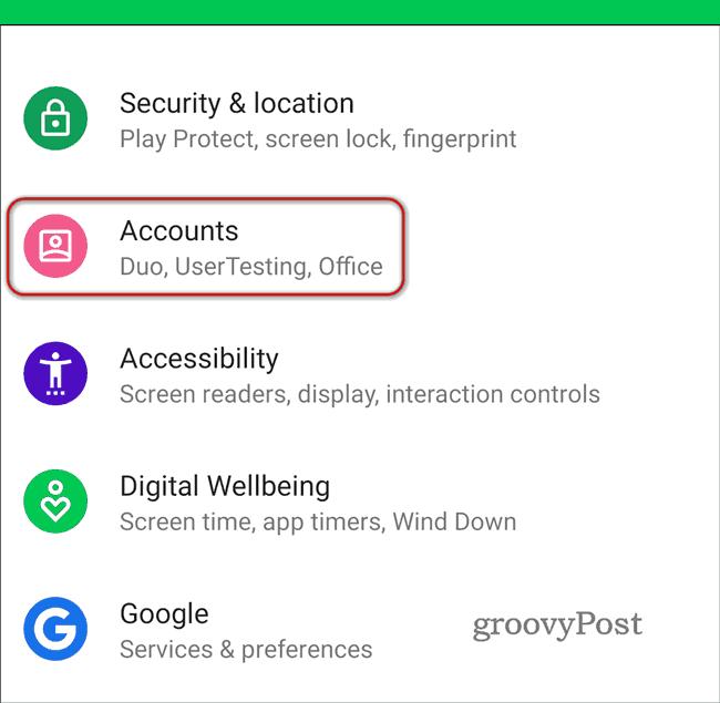 Delete Google Location History Automatically accounts settings