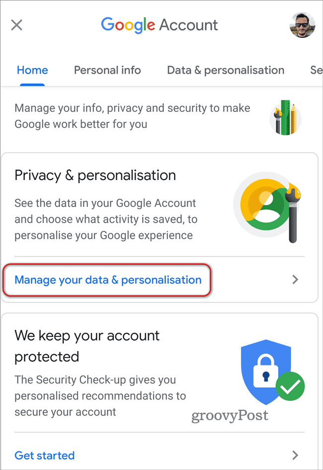 Delete Google Location History Automatically data personalisation